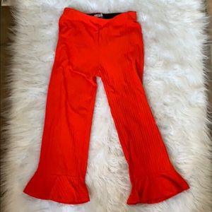 Zara Pants - Zara stretch bell bottom pants